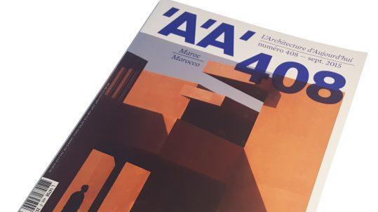 Architecture d'aujourd'hui cover 2